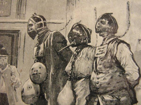 Средневековые маски позора (18 фото)