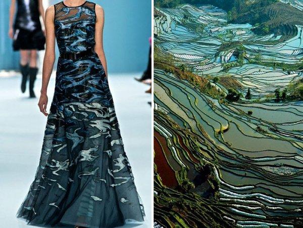 Мода и природа в серии работ Лилии Худяковой (25 фото)