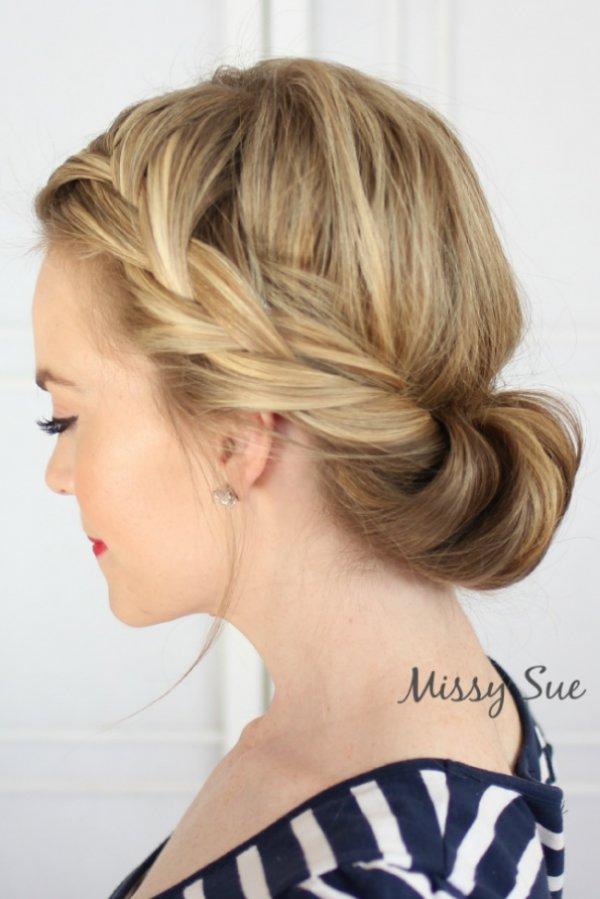 """Летние """"ленивые"""" причёски для длинных волос (10 фото)"""
