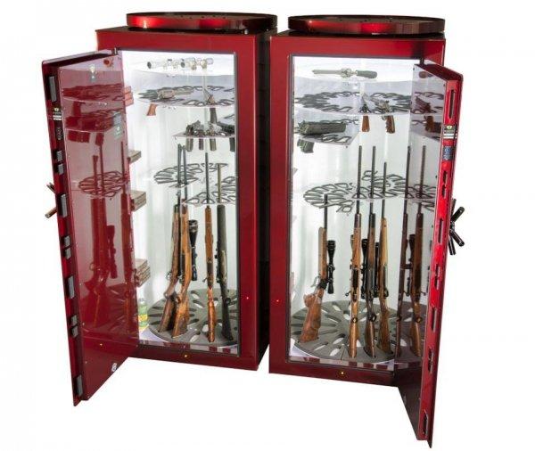 Кастомные оружейные сейфы от Pendleton Safes (9 фото)