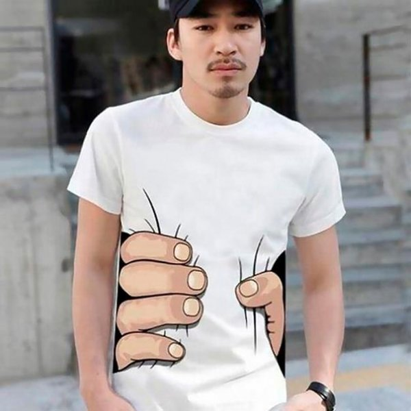 Креативные футболки (14 фото)