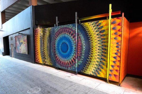 Красочный street-art Дугласа Хокземы (7 фото)