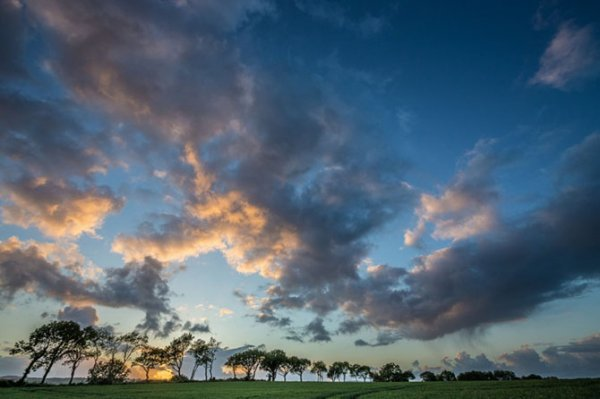 Чарующие английские закаты (13 фото)