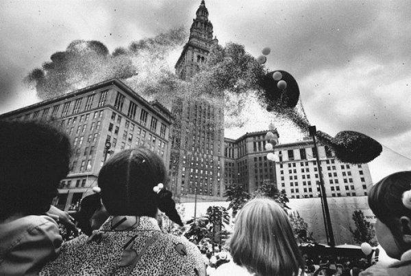 Рекорд воздушных шаров в Кливленде, который больше не повторяли (6 фото)