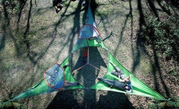 Подвесные палатки Tentsile Tree Tent (10 фото)