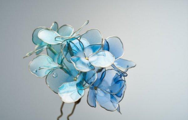 Восхитительные цветочные украшения от Sakae (10 фото)