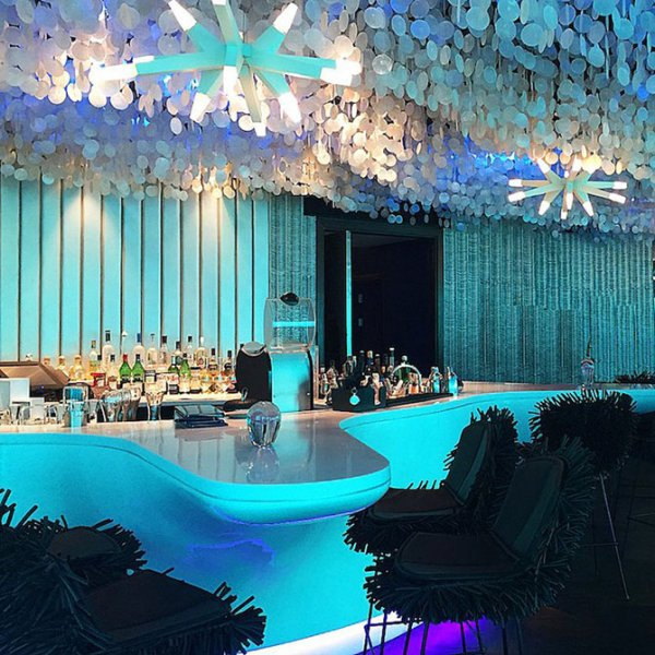 Подводный ресторан на Мальдивах (5 фото)