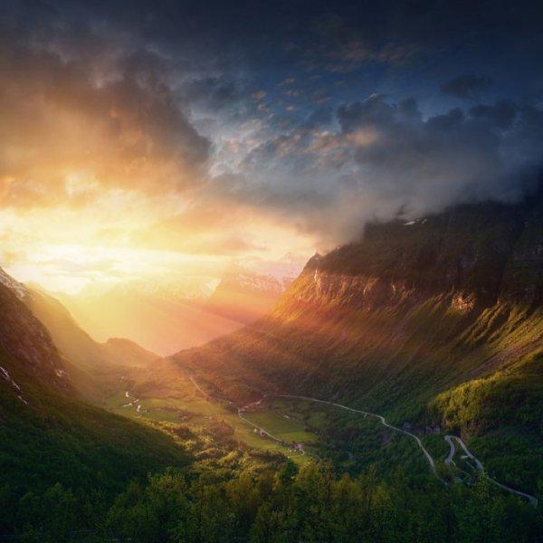Потрясающие пейзажи Ильи Машика (9 фото)
