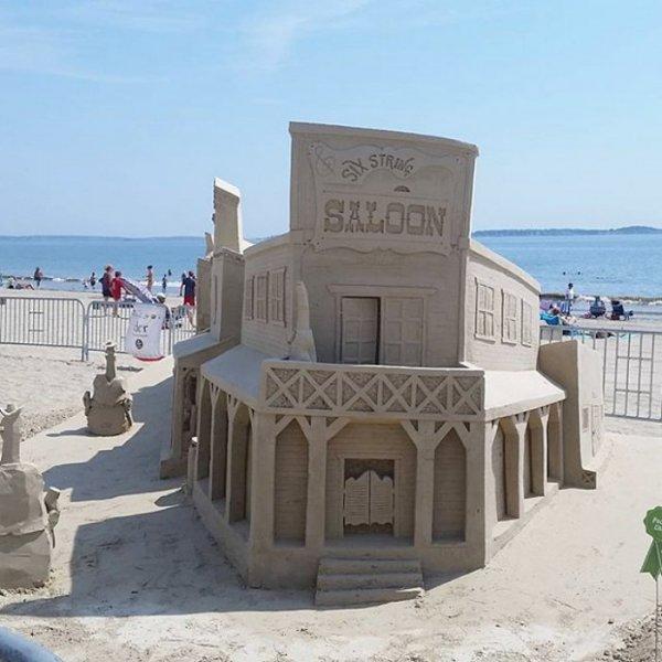 Песчаные скульптуры на фестивале в Бостоне (15 фото)
