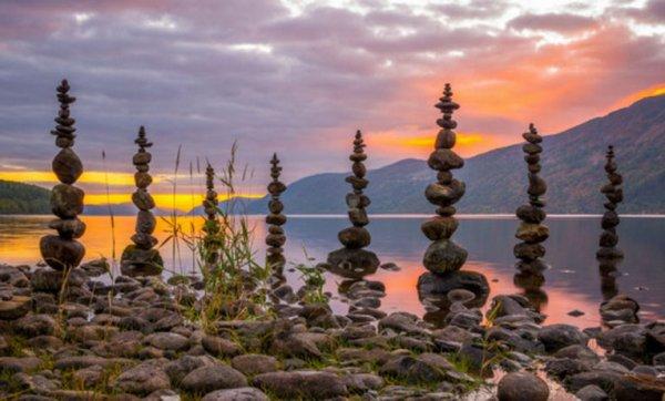 Балансирующие камни Майкла Грэба (11 фото)