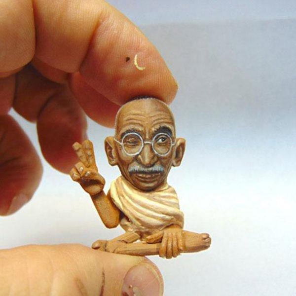 Арахисовые скульптуры Стива Касино (27 фото)