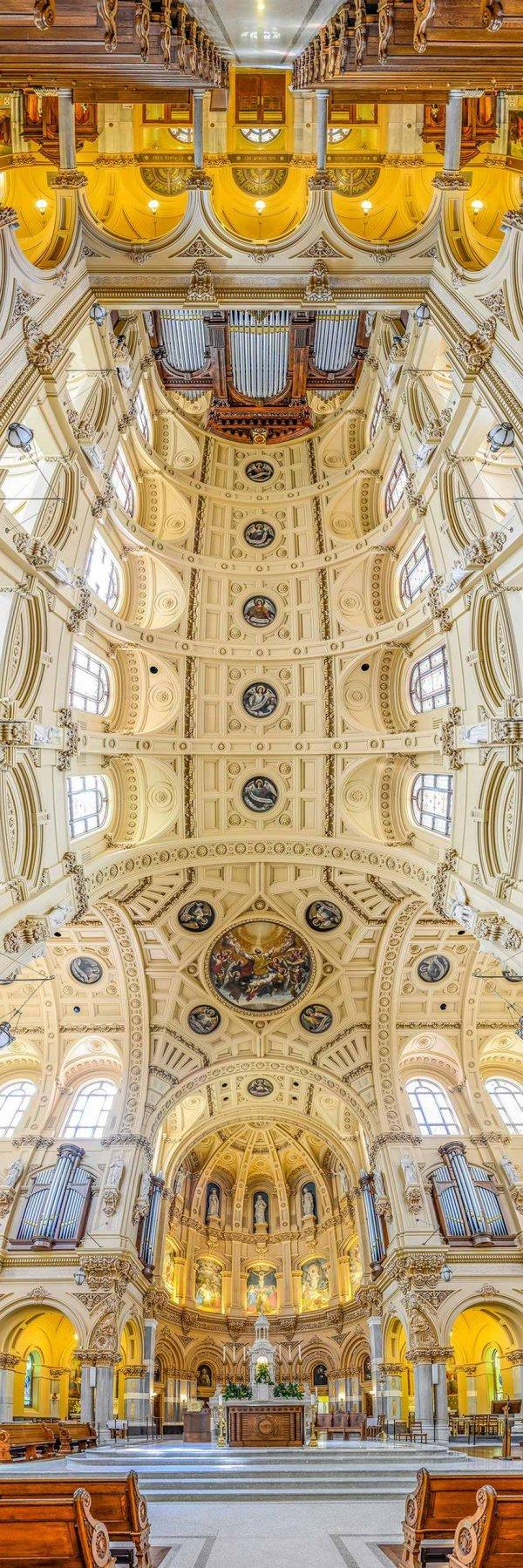 Церковная архитектура в панорамных снимках Ричарда Силвера (7 фото)