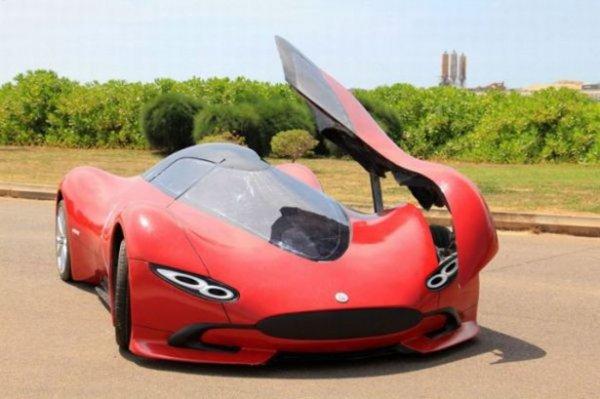 Самодельный автомобиль, построенный с нуля (13 фото)