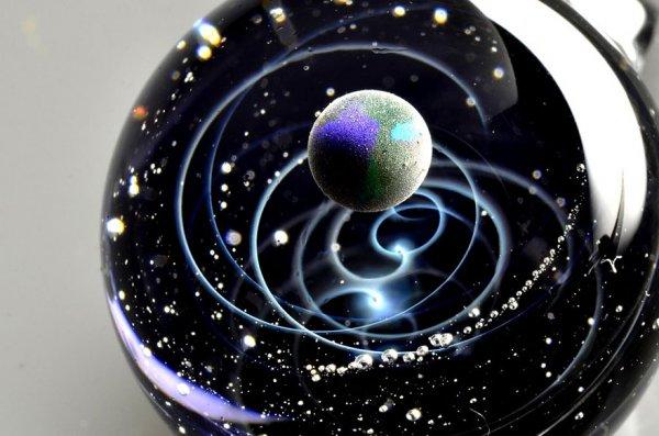Галактический микромир Сатоши Томидзу (10 фото)