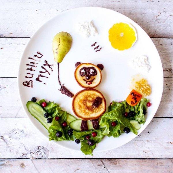 Креативные завтраки, вдохновлённые мультфильмами (10 фото)
