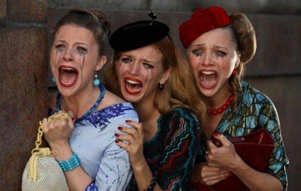 Что делать мужчине, когда плачет женщина