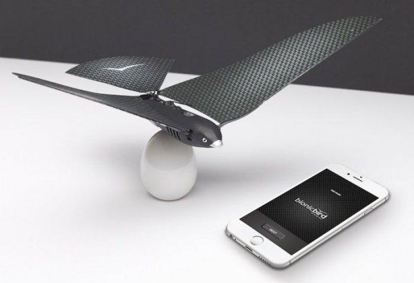 Бионическая птица Bionic Bird, управляемая смартфоном (10 фото + видео)