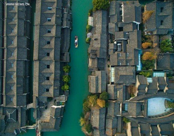Вучжен: Древний китайский город на воде (18 фото)