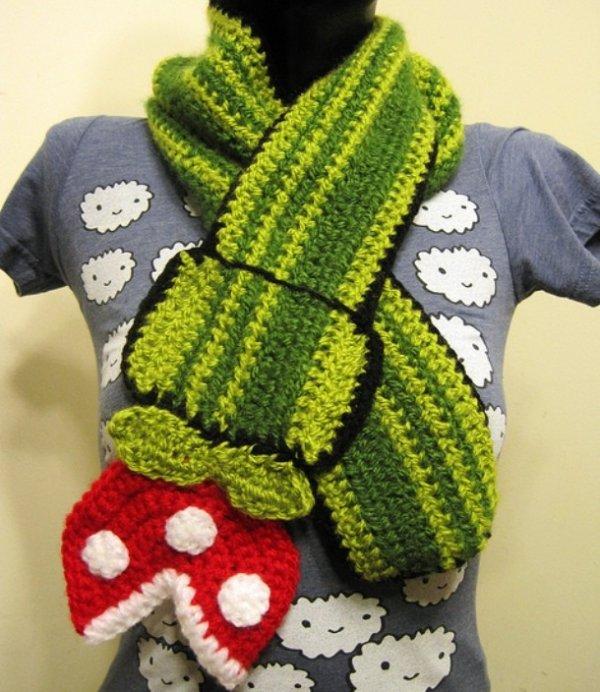 Креативные шарфы, которые привлекут к вам внимание (25 фото)