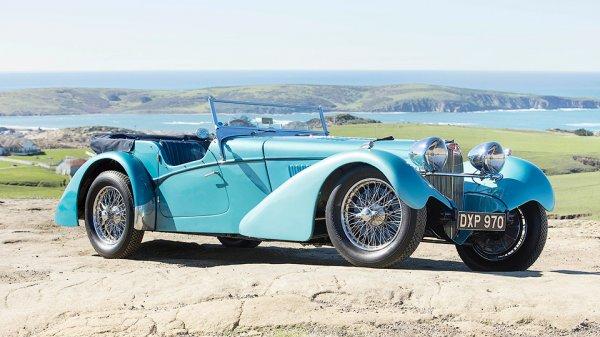 Bugatti 79-летней давности ушёл с аукциона за десять миллионов долларов