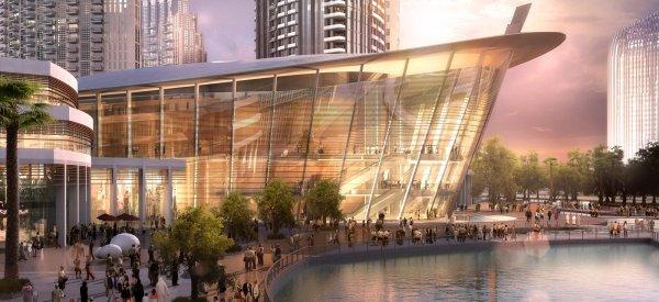 В Дубае заканчивается строительство Оперного театра