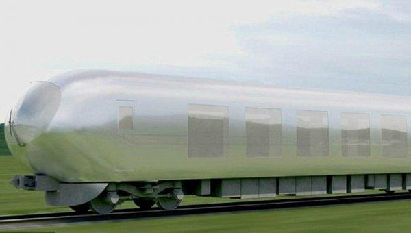В Японии планируют выпускать «невидимые поезда»