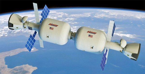 На орбите Земли может возникнуть надувная космическая станция