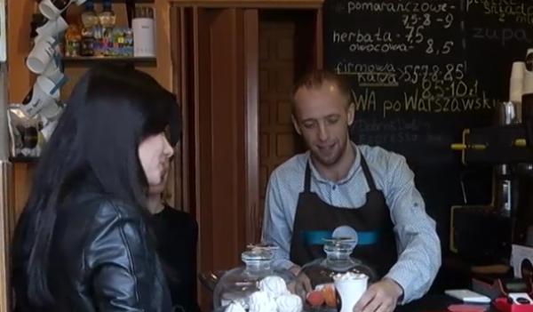В Польше открылась уникальная микро-кофейня