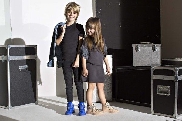 Итальянская корпорация Giuseppe Zanotti занялась производством детской обуви