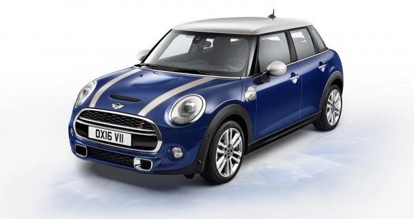 Бренд из Великобритании MINI представил новый автомобиль MINI Seven