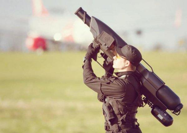 В Британии создали уникальное оружие для борьбы с дронами