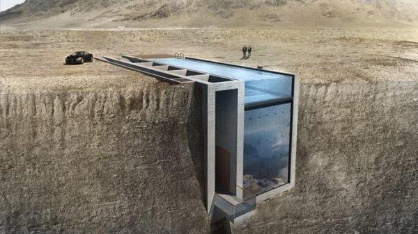В горах Ливана построят «брутальный» коттедж