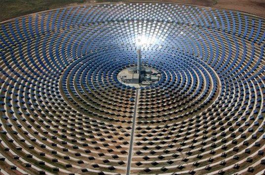 В Дубае планируют возвести предприятие аккумулированной энергии солнца
