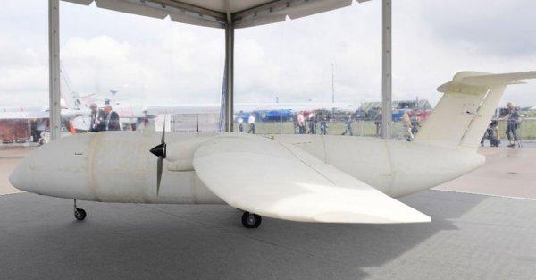 Корпорация Airbus продемонстрировала самолёт, напечатанный на 3D-принтере