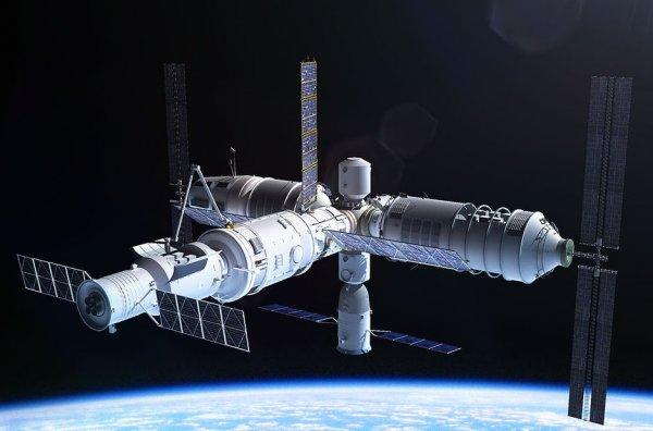 Китай запустит собственную космическую станцию