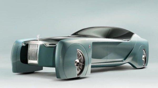 Корпорация Rolls-Royce презентовала концепцию автомобиля будущего