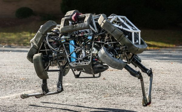 Компания Boston Dynamics создала милую собаку-робота