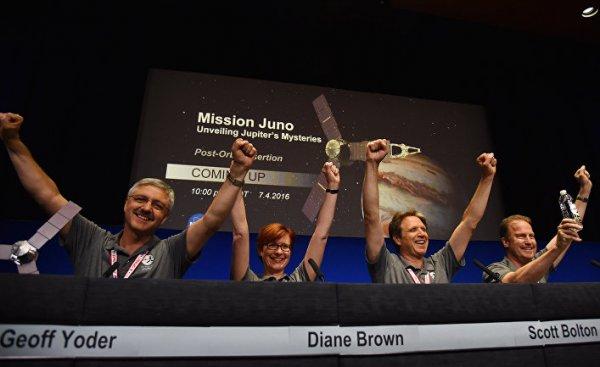 Аппарат «Юнона» успешно добрался до орбиты Юпитера