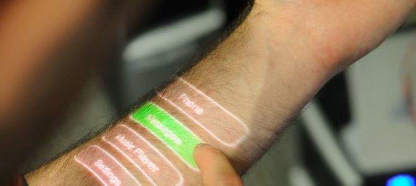 Новой носимой технологией может стать… кожа человека