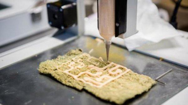 В Нидерландах открылся ресторан, где еду печатают