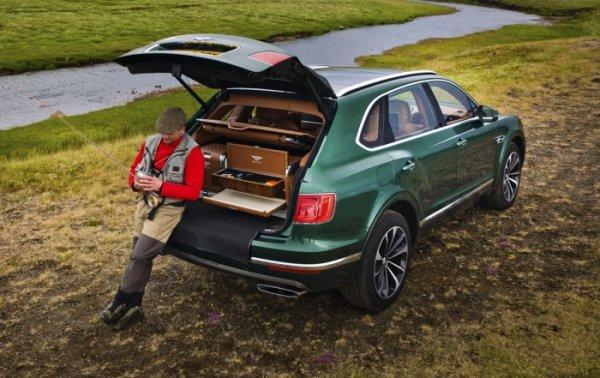 Bentley создал особый автомобиль для рыбаков