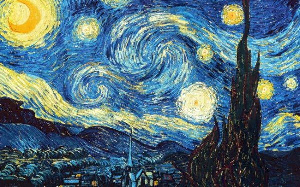 Из ДНК создали копию картины Ван Гога