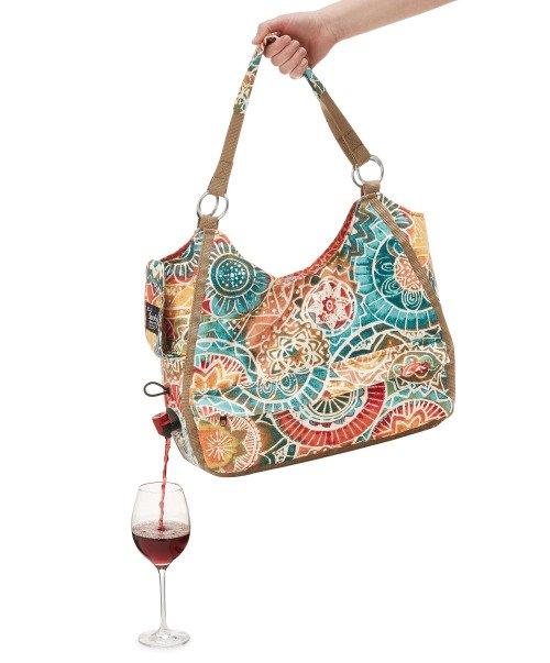 На рынке появились сумки с функцией разлива вина