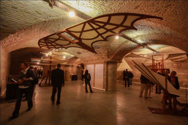 В Лондоне открылась экспозиция изобретений Леонардо да Винчи