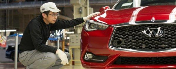 В Японии начали производить спортивное купе Infiniti Q60