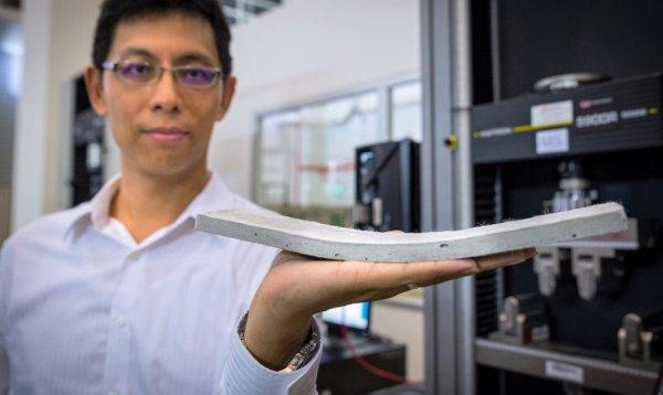 Научные деятели из Сингапура создали бетон будущего