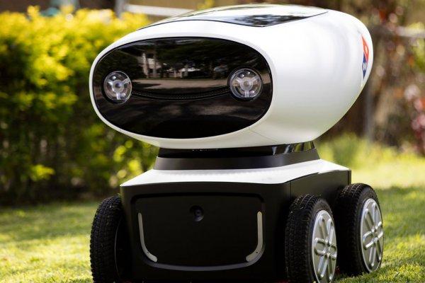 В Техасе создали робота-разносчика пиццы