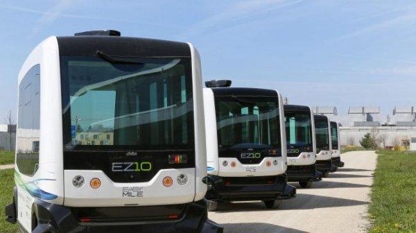 В Финляндии запустили беспилотные автобусы