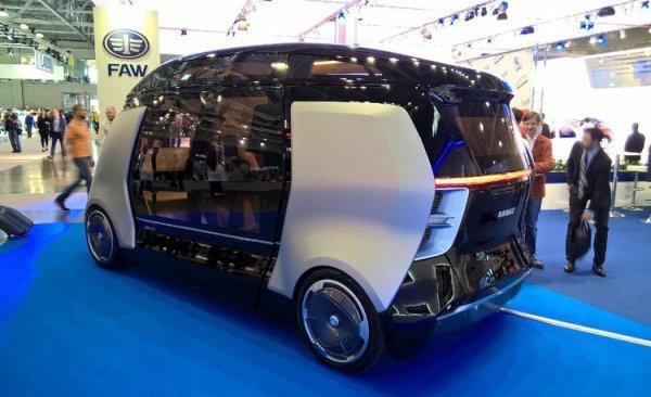 КАМАЗ создал беспилотный автобус компактных размеров