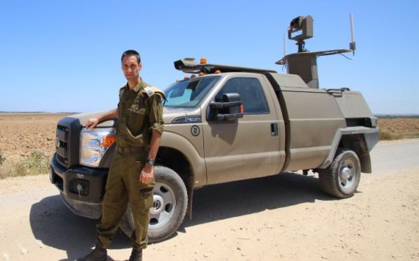 В армии Израиля появился полностью автономный автомобиль